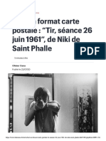 """Niki de Saint Phalle - L'art en format carte postale - """"Tir, séance 26 juin 1961"""", de Niki de Saint Phalle.pdf"""