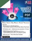 Rab's Women's Scratch Classic Tournament