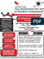 Rab's Annual Valentines Mixed Doubles Tournament