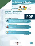 UNIVESP. Sistemas operacionais e softwares aplicativos. Informática aplicada à gestão Unidade de aprendizagem 02..pdf