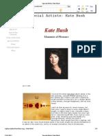 Femalefront.com Review - Kate Bush