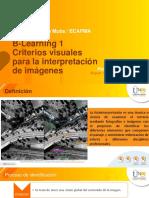B-Learning 1 Principios de Fotointerpretación