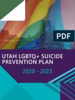 UTAH LGBTQ+ SUICIDE PREVENTION PLAN