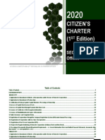 SEC CITIZENS CHARTER 2020 1st Edition Extension Office
