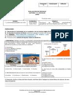Evaluación - 5°B - Historia - Junio