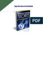 Marketings Secretos no Facebook