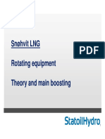 Rotating equipment Snøhvit LNG theory and main boosting TEP10