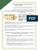 RESILIENCIA-GUÍA DE ORIENTACIÓN ESCOLAR PREESCOLAR Y PRIMARIA