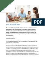 La familia panameña