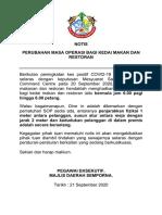 NOTIS PERUBAHAN MASA RESTORAN.pdf