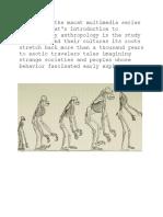 Intro to Anthropology Part 1