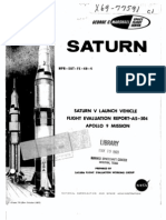 Saturn V Launch Vehicle Flight Evaluation Report - AS-504 Apollo 9 Mission