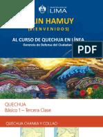 PPT - 3ra Clase Quechua