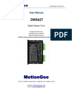 MotionGoo-DM542T Stepper Motor Driver