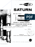 Saturn V Launch Vehicle Flight Evaluation Report - AS-506 Apollo 11 Mission