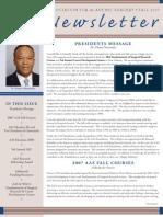 AAS News Fall 2007