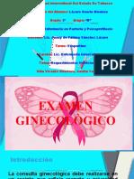 Examen Ginecologico