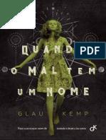 Quando o mal tem um nome - Glau Kemp