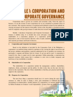 MODULE 1 government ethics summary