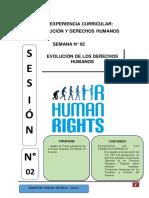 Evolucion de los derechos humanos