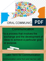 Oral Communication - Module 1