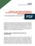 cf2r.org-Limpact des développements technologiques sur les services de renseignement