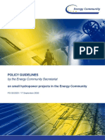 Policy Guidelines on small hydropower projects