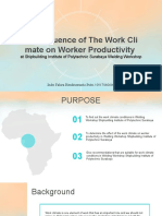 Pengaruh Iklim Kerja terhadap Produktifitas Kerja.pptx
