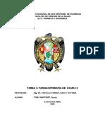FARMACOTERAPIA  DE COVID-19