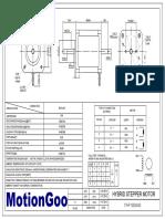 Motiongoo Stepper Motor Drawing-17HF19D6040
