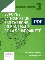 Fondapol Etude Serie Relocalisation Transition Carbone Souverainte Patrick Geoffron 2020 09