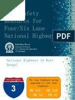 Road Safety Four Lane NH-6970840253