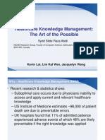 Healthcare_Knowledge_Management_presentation_2