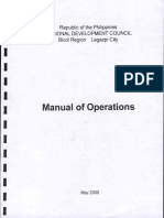RDC 5 Manual of Operations