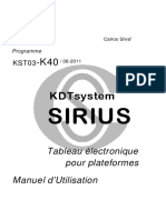 DT1580903 - SIRIUS - Manuel K40 - r1 - fr