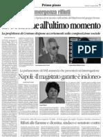 Il Quotidiano della Calabria del 14 08 2008