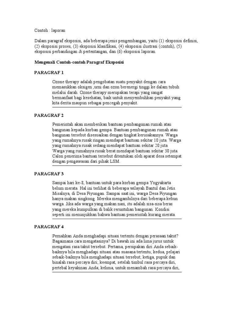 Contoh Eksposisi Laporan Dalam Bahasa Jawa Download Gambar Online