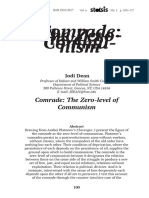 Jodi Dean - Comrade. The Zero-Level of Communism.pdf