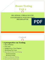 UNIT-1-Introduction to Testing