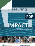 Measuring Impact Methodology
