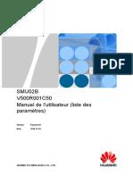 Liste parametres SMU  Fr