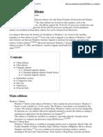 Windows 7 editions - Wikipe