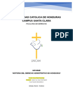 Marco histórico del derecho administrativo en Honduras