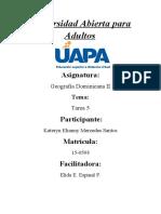 Tarea 5 Geografia Dominicana II