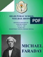 PPT on Michael Farady by Aarushi Patidar IX C