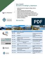 Encuentro Geologia y Geoparques - Carátula