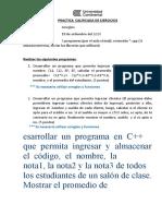 GUIA PRÁCTICA N-1 - ARREGLOS