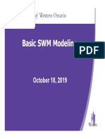 October 18 2019 Basic Modeling