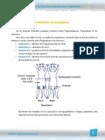 exercice-3 sur la fonction reproductrice chez l'homme