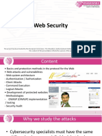 Web Security. Lecture 1. Introduction